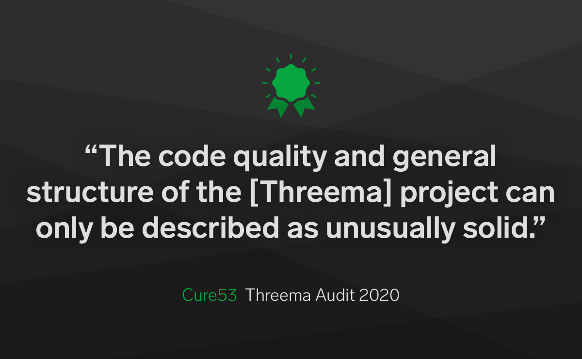 New Audit Confirms Threema's Security Once Again