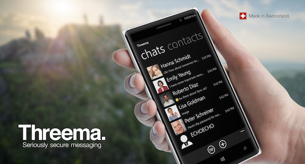 Threema available on Windows Phone from November 27