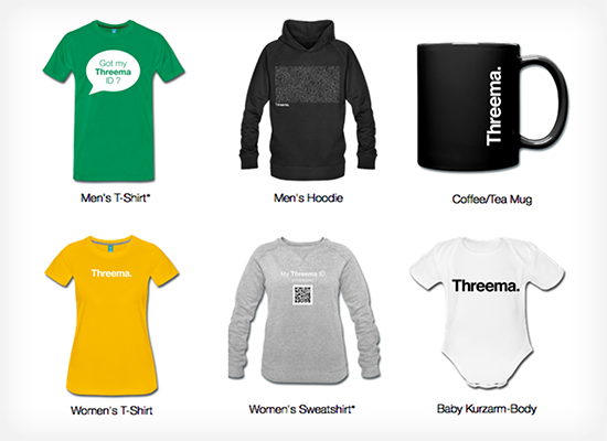 The Threema Fan Shop is here! Threema gear for all our friends and  supporters