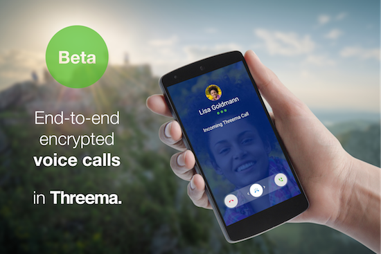 Threema voice calls: public beta test