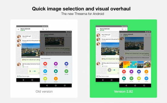Image quick select, visual overhaul, and improved usability (Android)