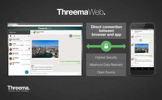 Threema Web. Threema's web client is here